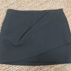 🌵🐝Pleated Wrap Mini Skirt